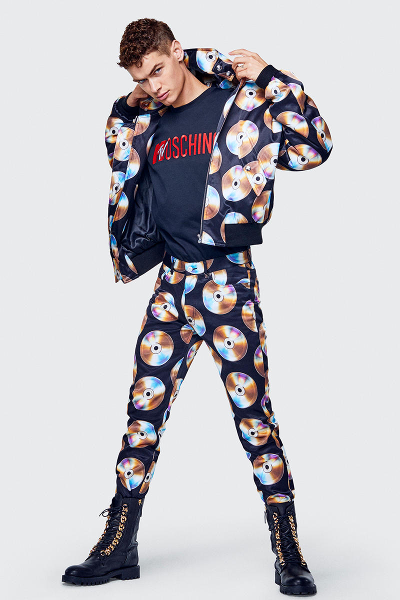 H&M jeremy scott moschino collaboration collection menswear disney mickey mouse goofy donald duck november 8 drop release date buy sell info lookbook