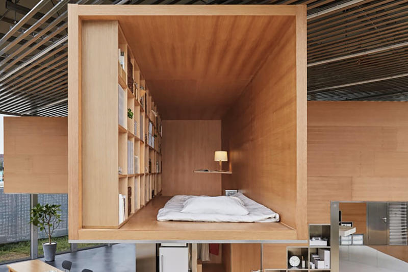 MUJI Designs Tiny Apartment Shanghai Living Quarters