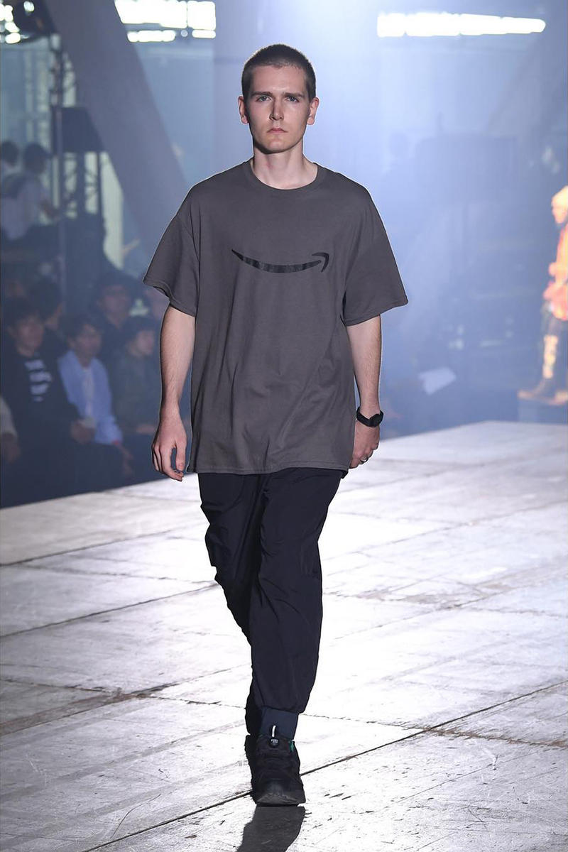 n hoolywood tokyo fashion week amazon japan october 6 2018 spring summer 2019 runway show presentation umbro garfield capitalist casualties the exorcist tie dye daisuke obana collection
