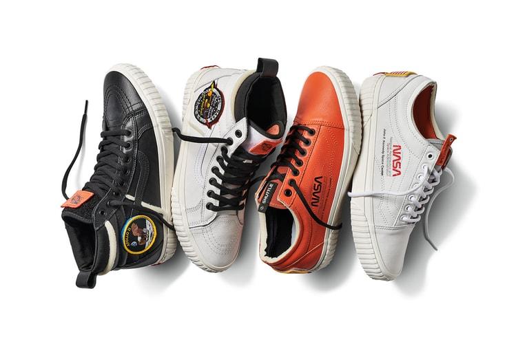 b5df2bf4fd NASA x Vans  Official   Complete Look at Sneakers