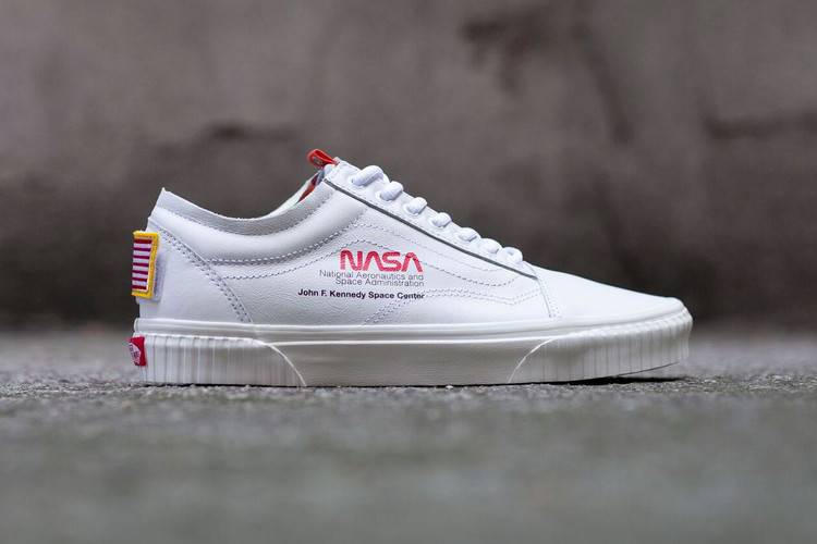 Take Another Look at the NASA x Vans Old Skool