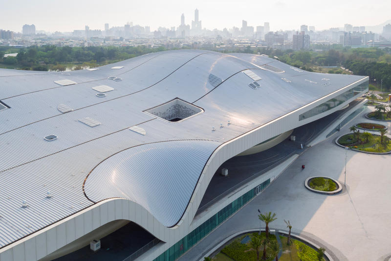 National Kaohsiung Center for the Arts taiwan weiwuying world's largest performance arts center mecanoo architecture photos