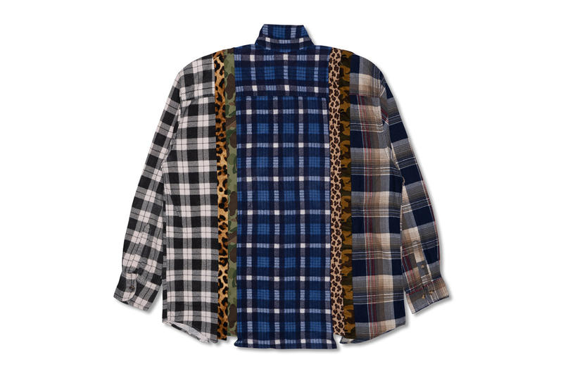 needles hypefest exclusive track suit jacket pants 7 cut rebuild patchwork shirt tee plaid nepenthes drop release info october 6 7 2018 exclusive
