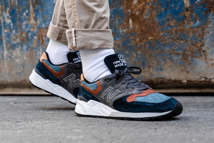 buy online 2a155 2bb0f New Balance 999 Cozies Up for Fall in