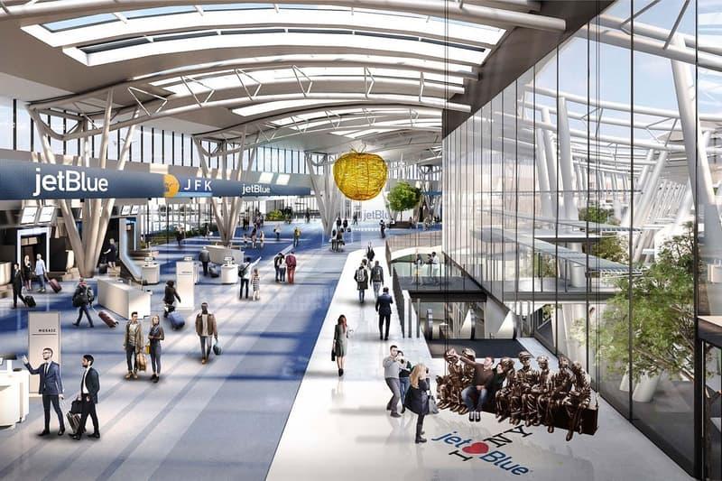 New York JFK Airport $13 Billion USD Overhaul renderings