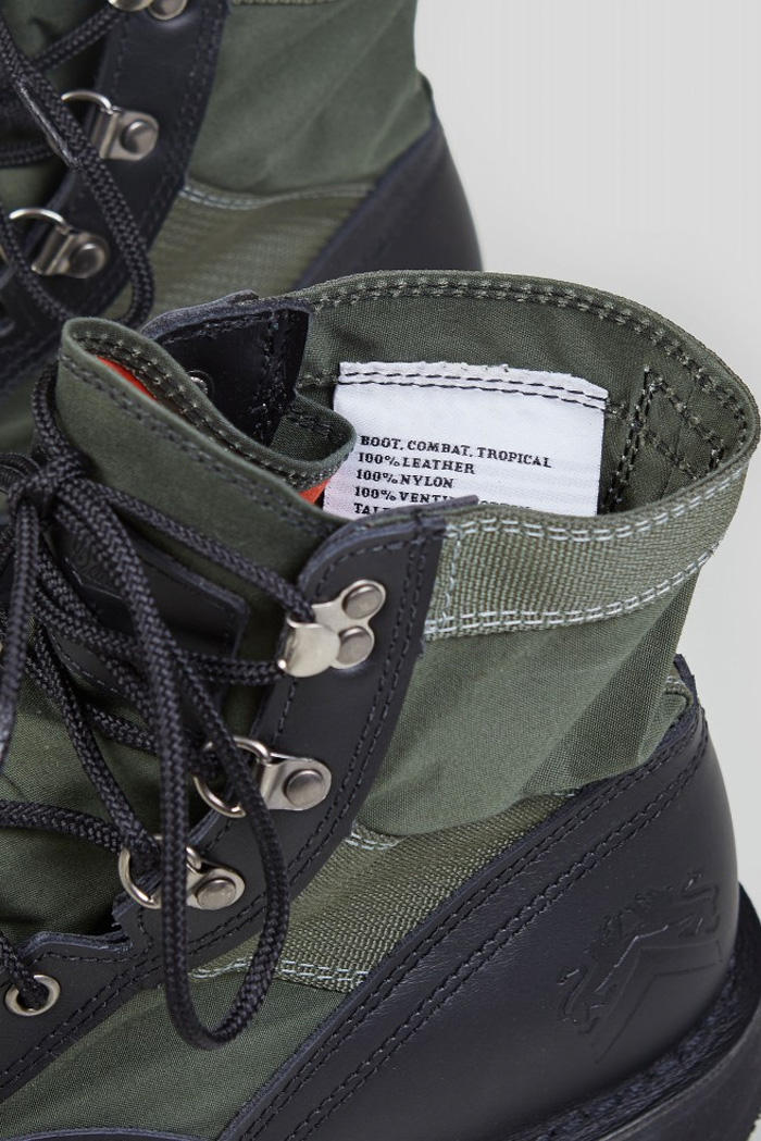 Nigel Cabourn Danner Jungle Boot release date collaboration price info vietnam war army boot