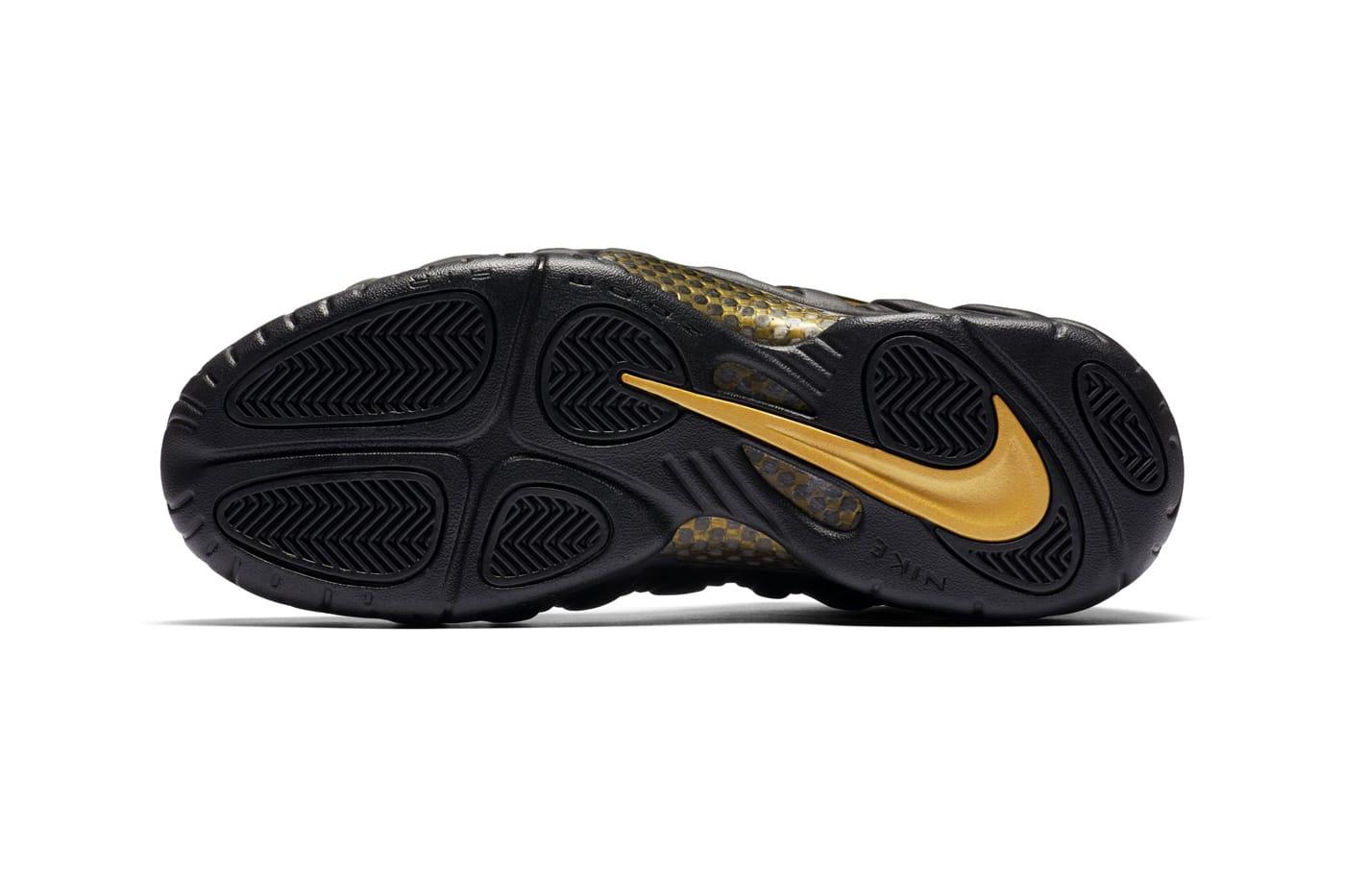 "Nike Air Foamposite Pro ""Black/Metallic"