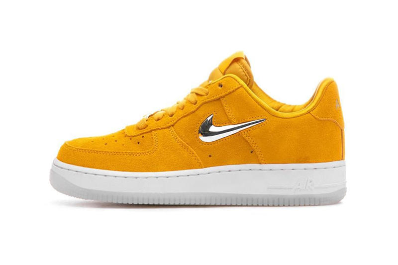 info for c904a 6c91c A shiny touch to complement its suede upper. nike air force 1 07 premium lx  ...