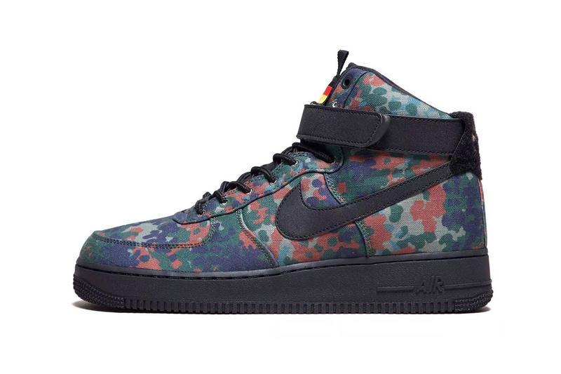 new concept a2301 5d62e Nike Air Force 1 High Country Camo Germany release date