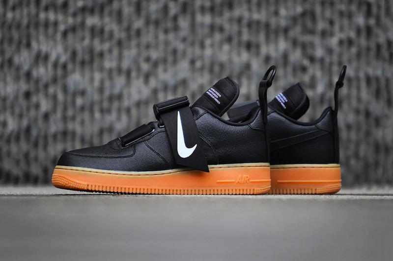 """Nike's Air Force 1 Low Utility Set to Release in a """"Black/Gum"""" Colorway"""