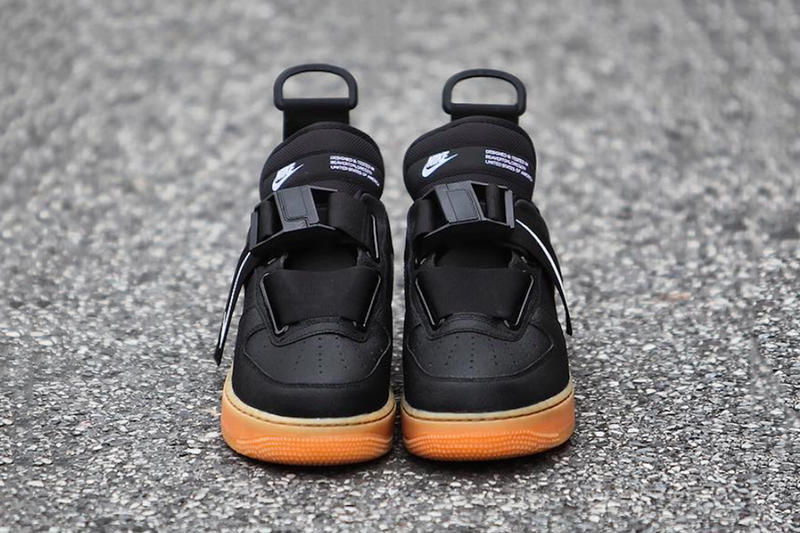 Nike Air Force 1 Low Utility Black Gum Release info Date