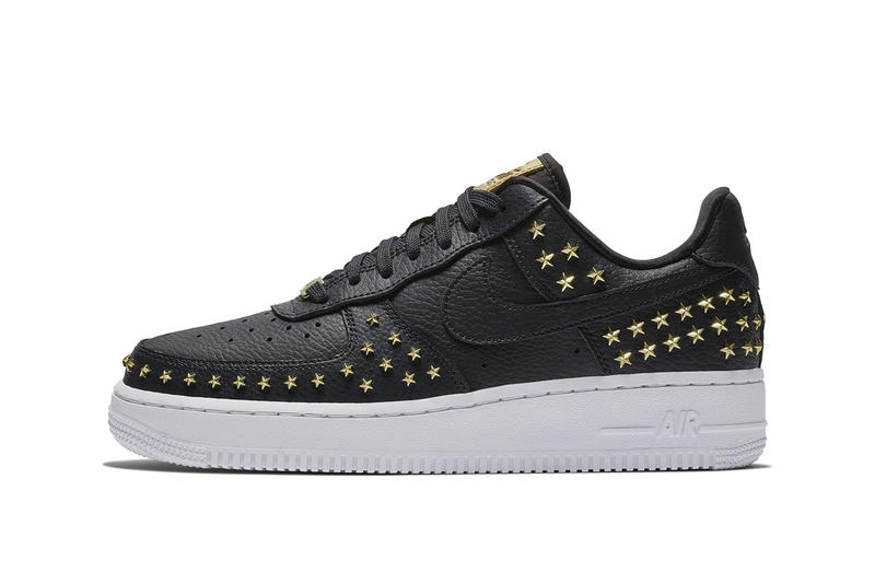 3561befa983e Nike Air Force 1  07 Star Stud white black oil olive grey xx Colorway  november