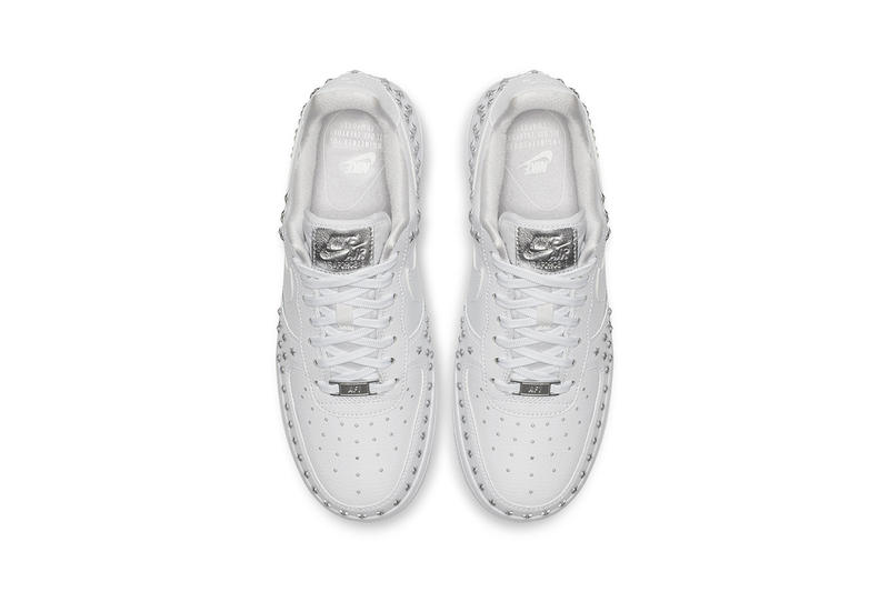 Nike Air Force 1 '07 Star Stud white black oil olive grey xx Colorway november 23 2018 release date info drop buy triple