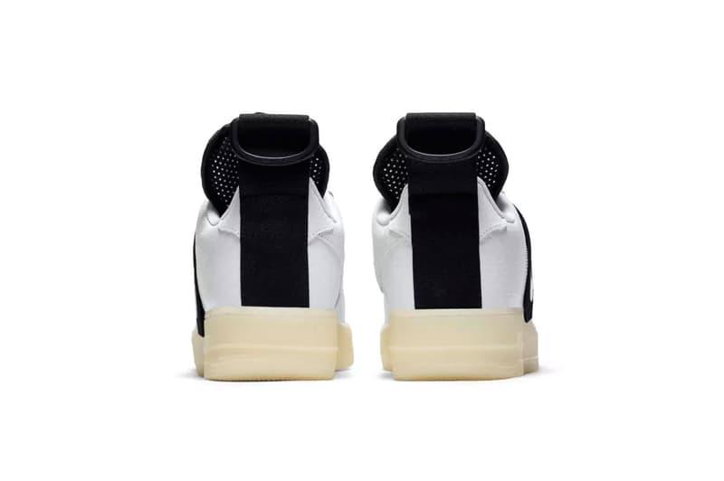 nike air force 1 utility release date 2018 october nike sportswear footwear white black Magnetic Buckle strap nylon ballistic closure ststem