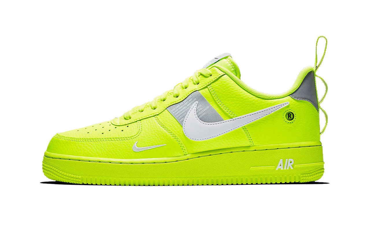 lime green air force 1