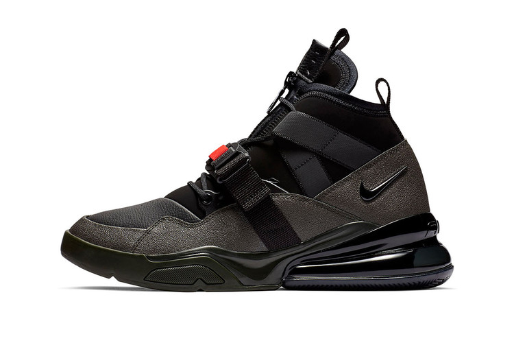 4953a67188 Nike Air Force 270 Utility Straps Up in