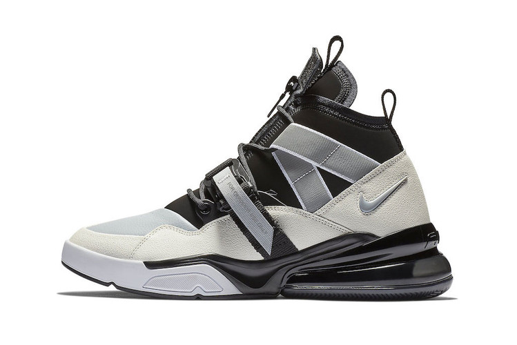 "buy popular 58930 115e6 Nike Set to Drop the Air Force 270 Utility in a Clean ""Black Sail"""