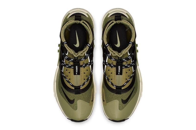 Nike Air Huarache Gripp Olive & Black Colorways sneaker release date info price buy online