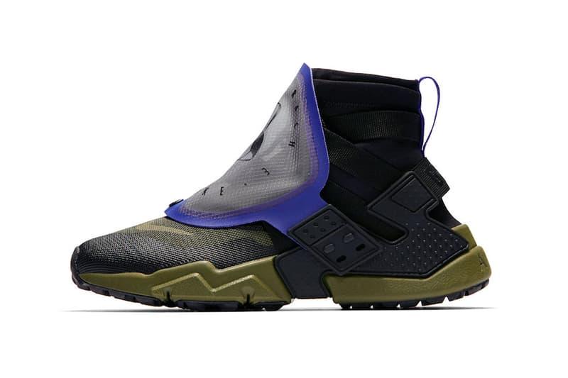 nike air huarache gripp release date 2018 october footwear nike sportswear olive canvas indigo burst sail team orange wolf grey