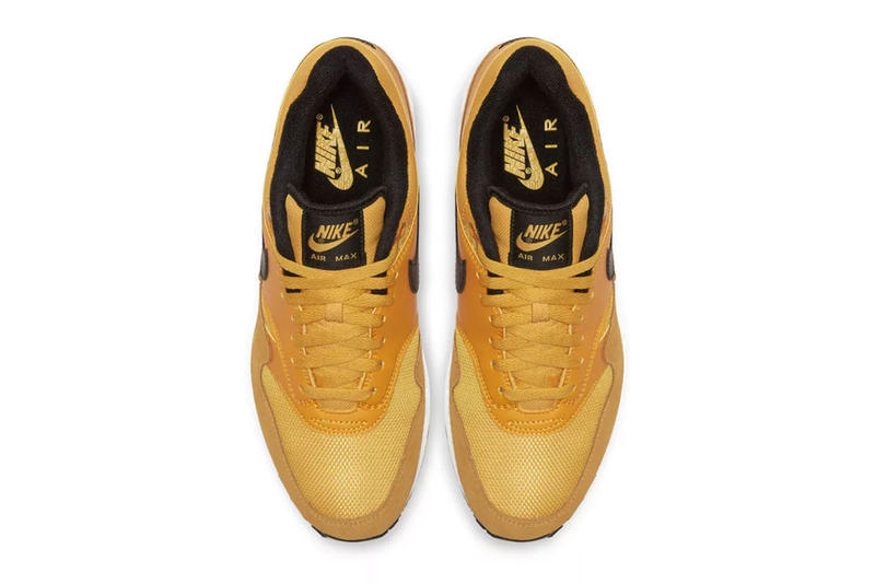 "Nike Air Max 1 Premium ""University Gold"" Release info date price purchase buy online sneaker colorway"
