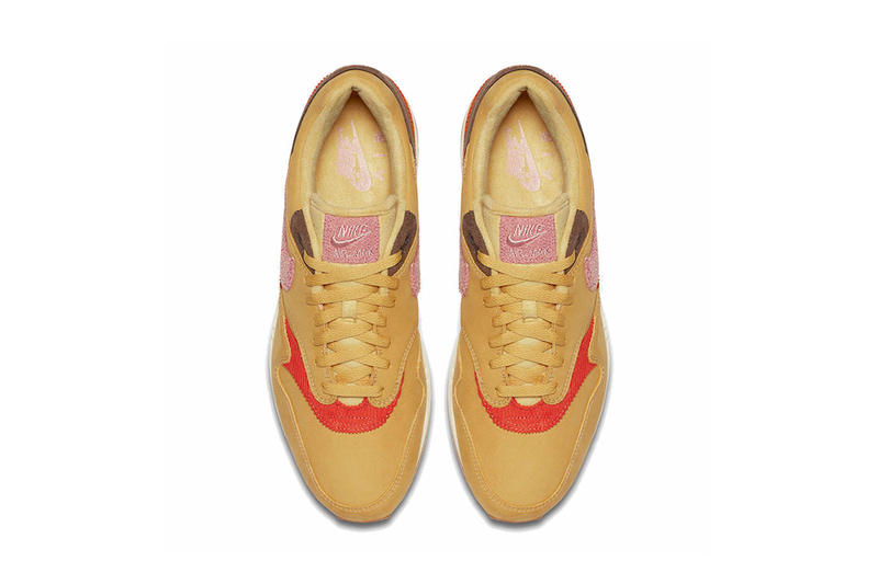 nike air max 1 premium wheat gold 2018 november nike sportswear footwear