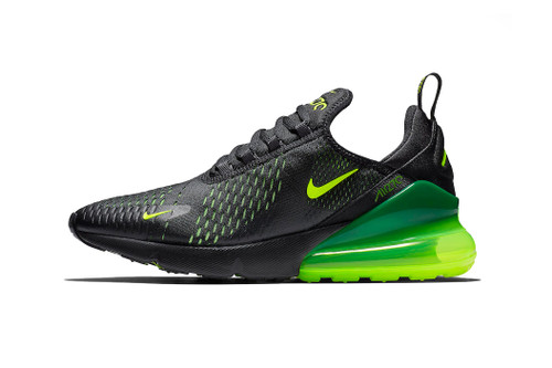 "Nike Air Max 270 ""Black/Volt"" Hits Shelves Next Month"