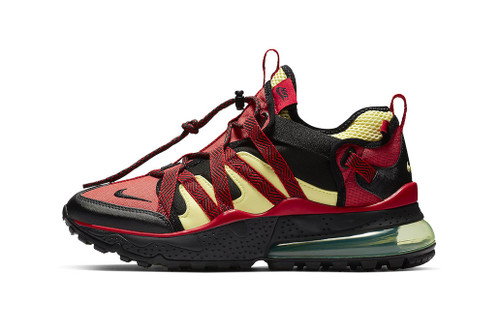 """Nike's Air Max 270 Bowfin Surfaces in """"University Red/Light Citron"""""""