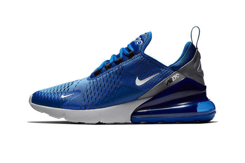 "Nike Gives the Air Max 270 an ""Indigo Force"" Makeover"
