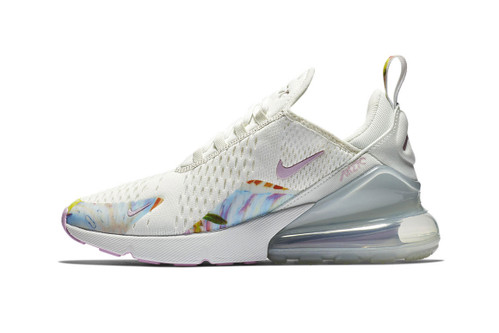 "Nike's Air Max 270 Gets Floral in ""Summit White/Arctic Pink"""