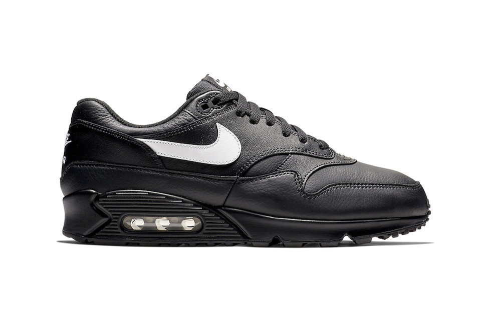 "88c1d7c467d0 Nike Drops the Air Max 90 1 in ""Black Leather"""