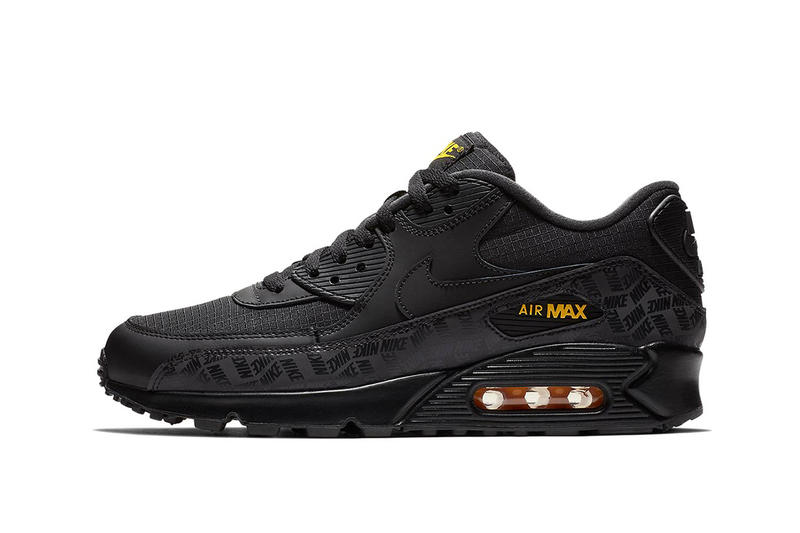 pretty nice c3816 6a50a Nike Air Max 90 Black Amarillo fall 2018 release info sneakers