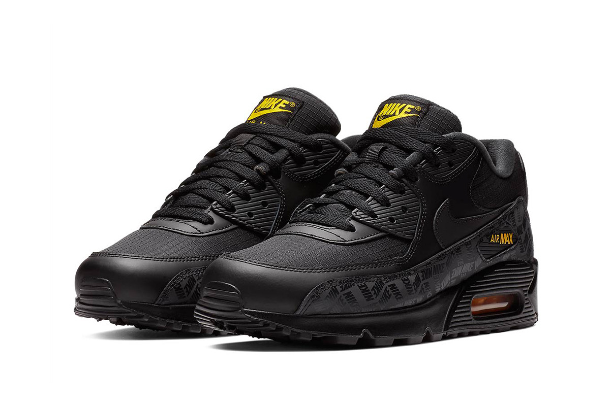 "Nike Air Max 90 ""Black/Amarillo"