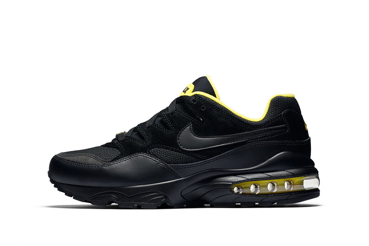 f579d1d624 Nike Reimagines the Air Max 94 in a Clean Black Yellow Color Scheme