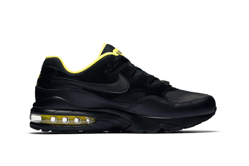 Nike Air Max 94 Black Yellow fall 2018 release sneakers e365a8260