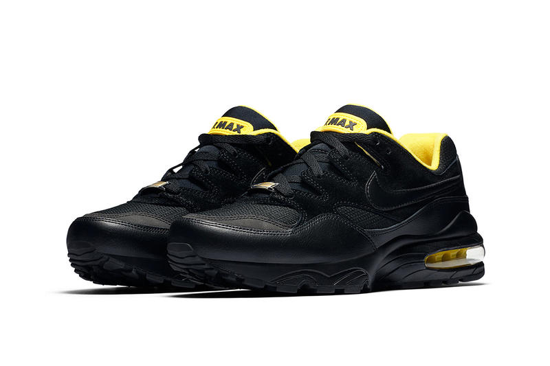 0f7db850a4ce Nike Air Max 94 Black Yellow fall 2018 release sneakers