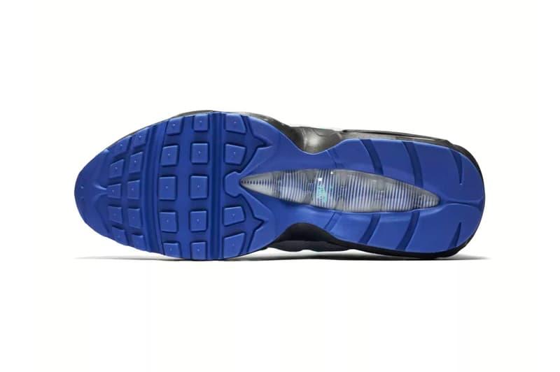 Nike Air Max 95 Aqua Release Wolf Grey Purple Turquoise Black Indigo Burst Hyper Jade