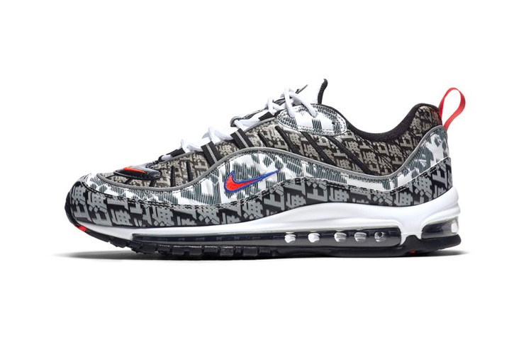 best cheap 16f3d 9bbea Nikes Air Max 98 Gets a Premium Shanghai Colorway
