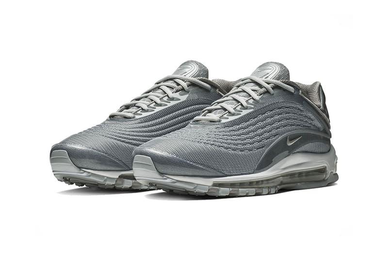nike air max deluxe triple grey 2018 nike sportswear footwear
