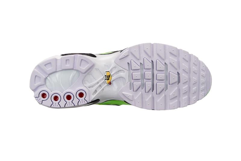 Nike Air Max Plus Double Swoosh Branding colorways sneaker release date price info volt black