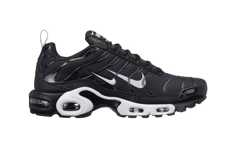 Nike Air Max Plus Double Swoosh Branding colorways sneaker release date price info volt black