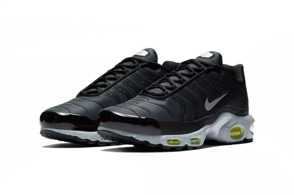 Nike Air Max Plus PRM Black Leather