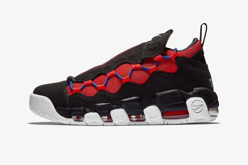 "Nike Air More Money ""Lone Star state"" Release Date november 2018 price texas flag sneaker colorway black red blue white"