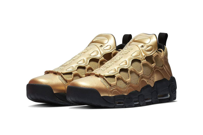 """Nike Air More Money """"Metallic Gold"""" Release Date october 2018 price colorway sneaker online buy purchase size"""