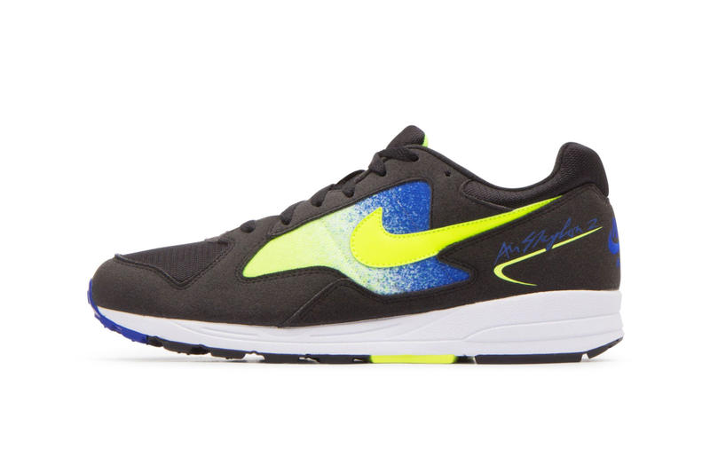 """Nike Air Skylon 2 """"Volt/Racer Blue"""" release date info price purchase sneaker colorway"""