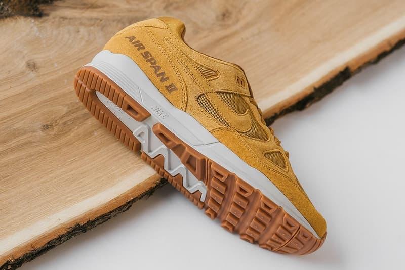 Nike Premium Wheat Air Span II sneakers buy where sneakavenue october 2018 release