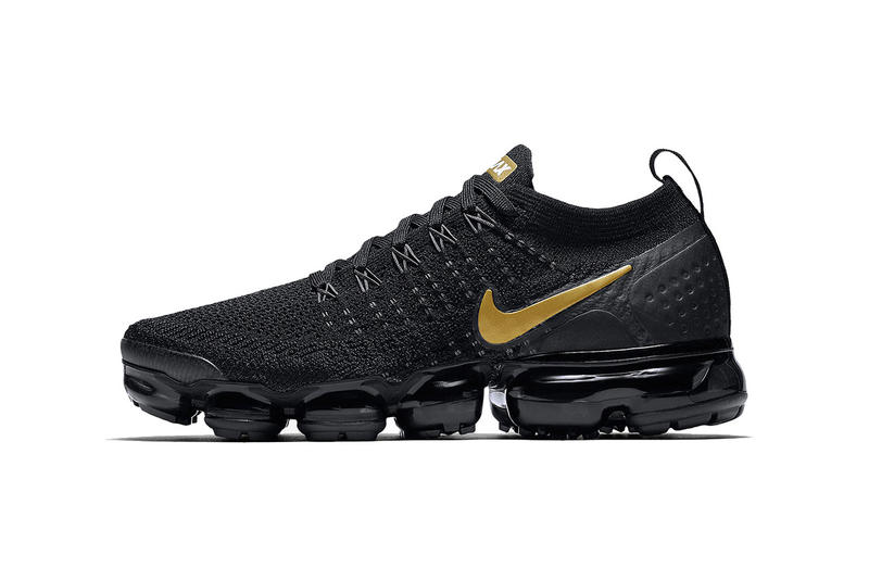 157afb444e nike air vapormax flyknit 2 0 black metallic gold metallic platinum 2018  october footwear nike sportswear