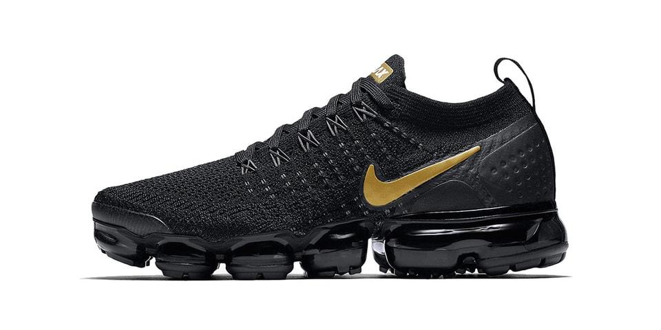 "Nike Air VaporMax 2.0 ""Black/Metallic Gold"" | HYPEBEAST"