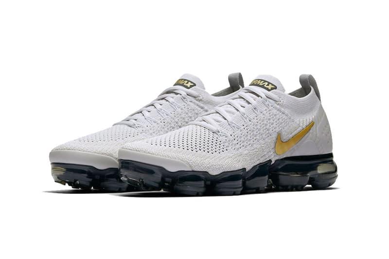 c46578a60e6 Sneaker Bar Detroit. nike air vapormax 2 0 vast grey metallic gold pure  platinum dark grey white 2018 november