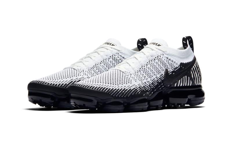 Nike Air VaporMax 2.0 Zebra black white release info sneakers
