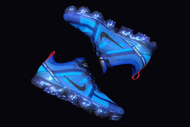 0c95c80c81 Nike Air Vapormax 2019 blue black red silver update evolution silhouette  sneaker trainer first look kicks. 1 of 4